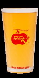 Matsch & Brei Apfelweinglas
